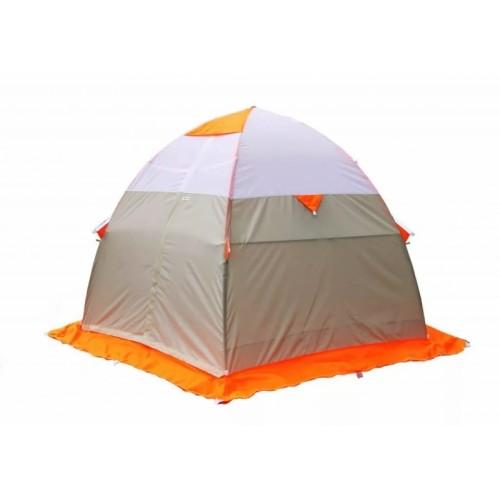 Зимняя палатка Лотос 3 Эко Оранжевая палатка лотос 3 универсал