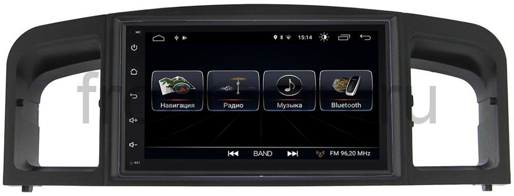 Штатная магнитола LeTrun 2159-RP-LF620-18 для Lifan Solano I (620) 2010-2014 Android 8.0.1 MTK-L