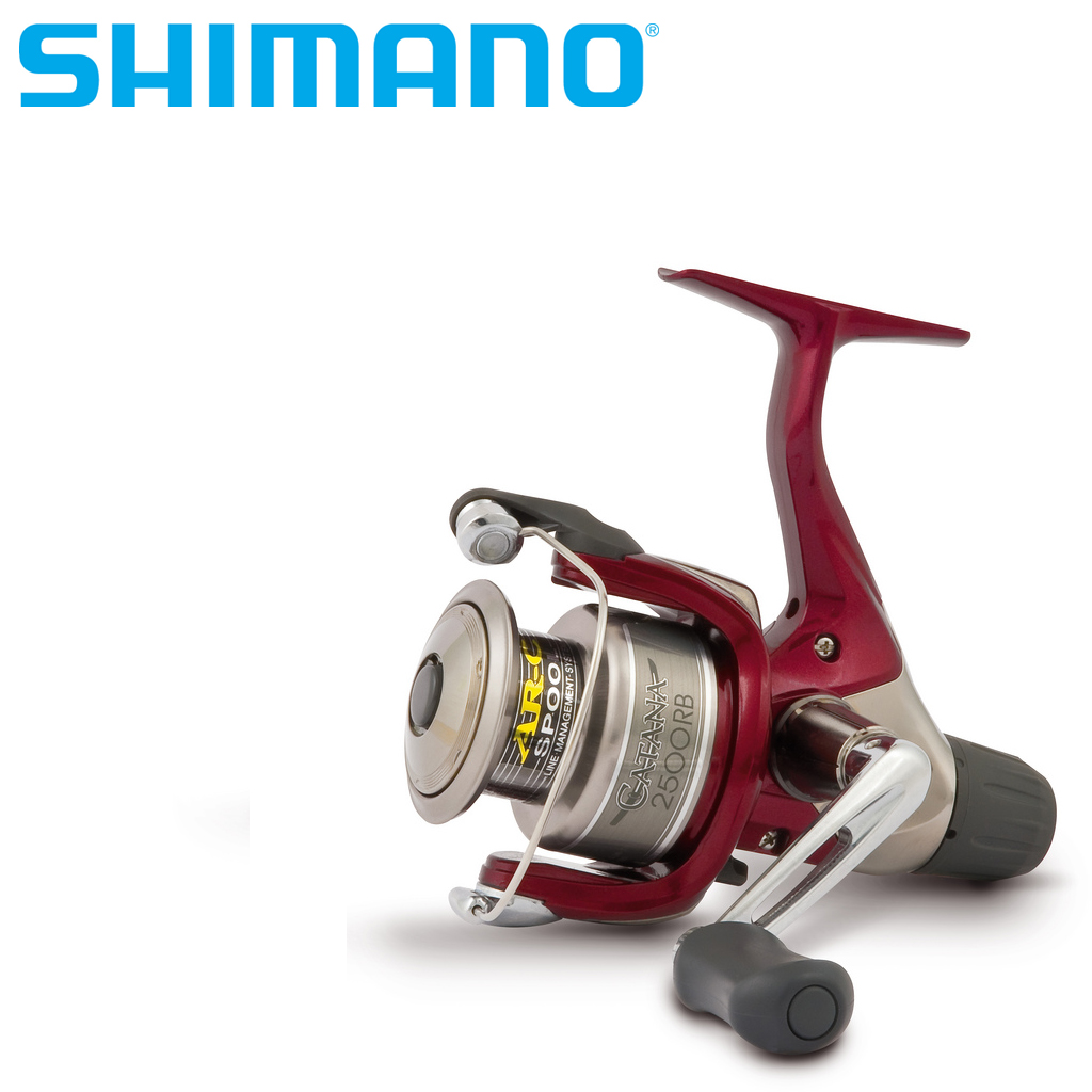 Катушка безынерционная SHIMANO CATANA 3000S RB [vk] travel switch limit switches wlca12 2n silver contact thickness aluminum high temperature resistant