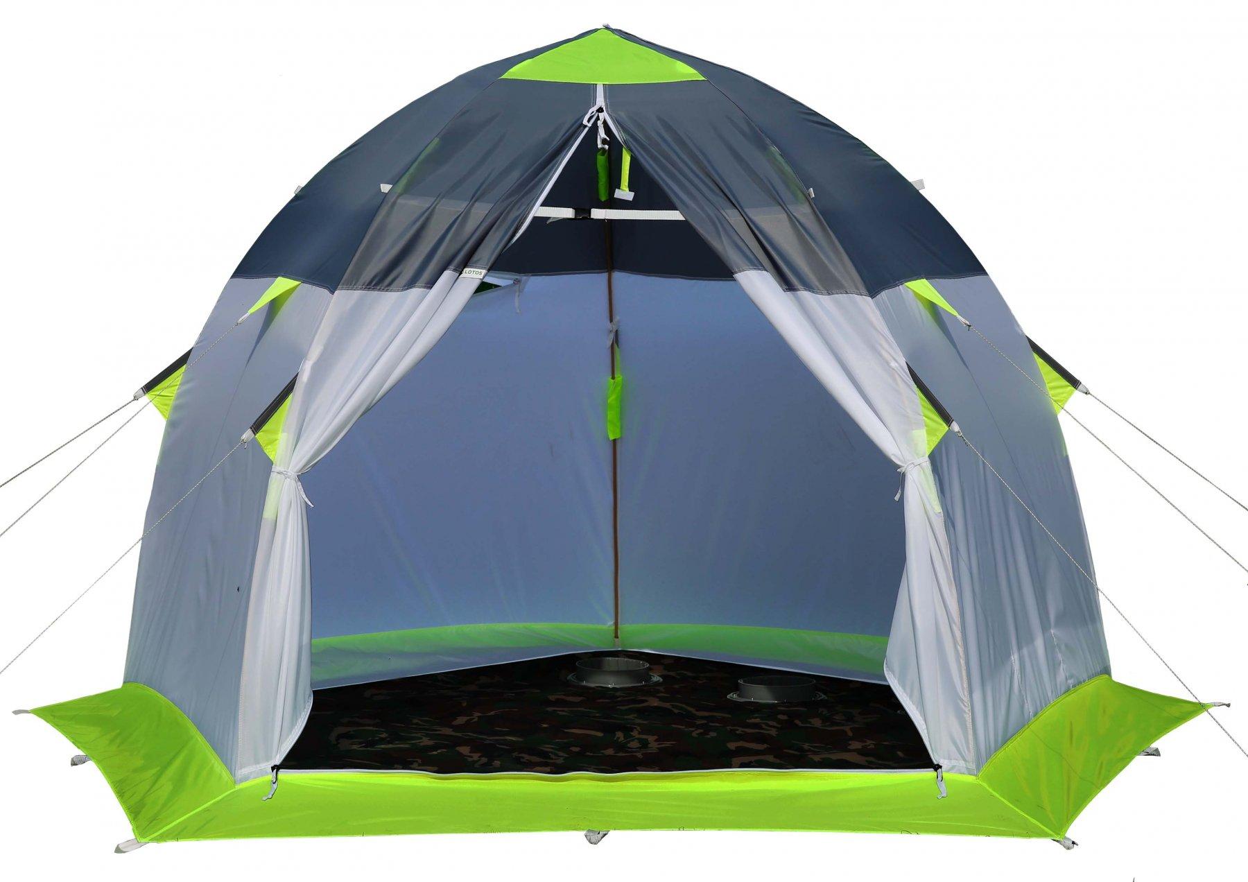 Зимняя палатка Лотос 3 Эко палатка лотос 3 универсал