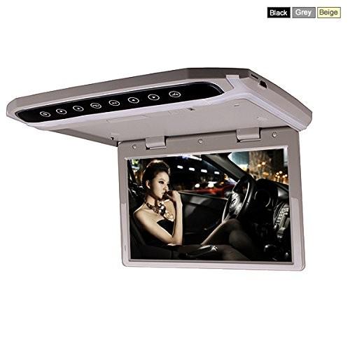 Автомобильный потолочный монитор 17,3 со встроенным Full HD медиаплеером ERGO ER174FH (HDMI/AC3) (+ Двухканальные наушники в подарок!)
