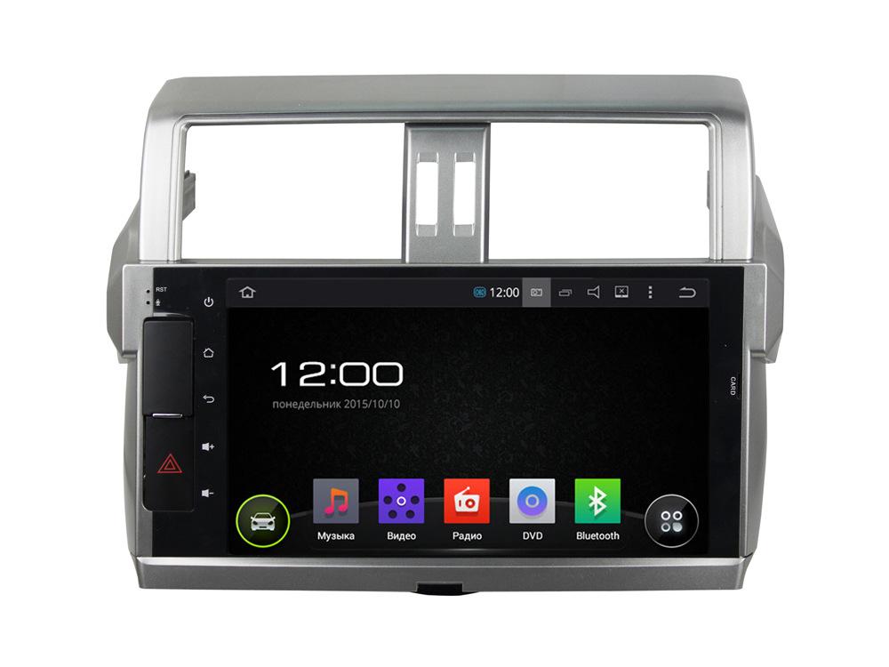 Штатная магнитола FarCar s130 для Toyota Prado 150 2014+ на Android (R347BS)