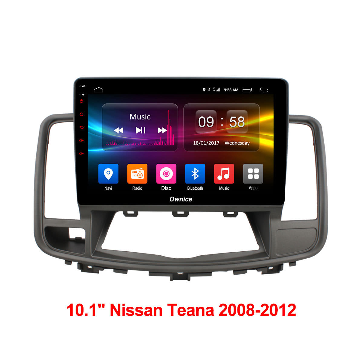 Штатная магнитола CARMEDIA OL-1669 DVD Nissan TEANA 2008-2013 штатная магнитола carmedia ol 1642 dvd honda accord 2013 с внешним dvd