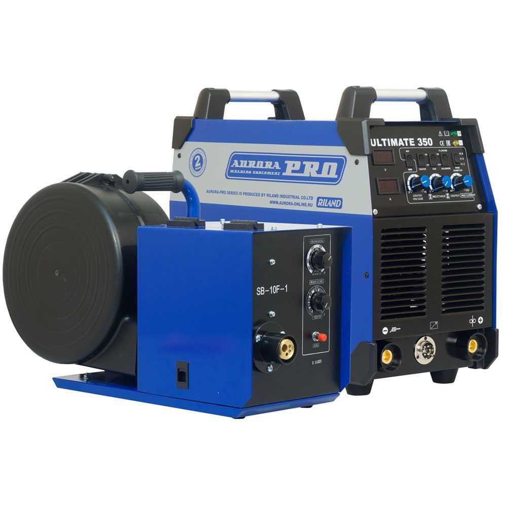 цена на Сварочный полуавтомат AuroraPRO ULTIMATE 350 с закрытым подающим механизмом (MIG/MAG+MMA)