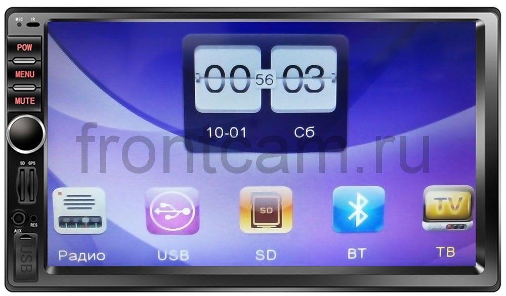 2 DIN Универсальная магнитола LeTrun 1699 MP5 universal dc 12v 7 inch 2 din touch screen car mp4 mp5 player support bluetooth usb tf fm dvr aux input gps