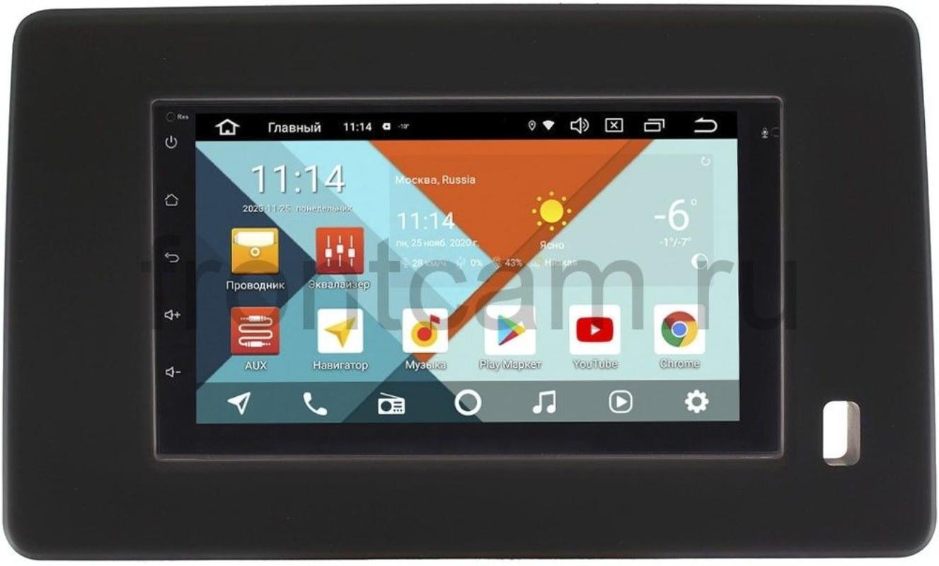 Магнитола для Renault Arkana I 2019-2020 ( матовая) Wide Media KS7001QR-3/32-RP-RN10R-185 на Android 10 (DSP CarPlay 4G-SIM) (+ Камера заднего вида в подарок!)