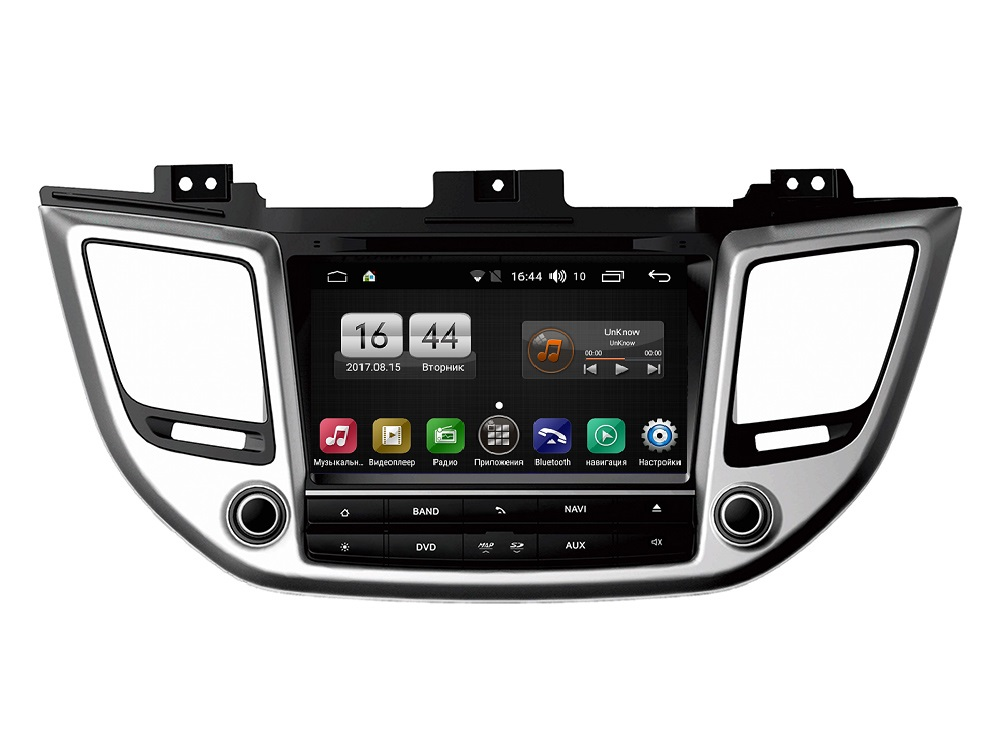 Штатная магнитола FarCar s170 для Hyundai Tucson 2015+ на Android (L546) junsun 7 inch hd car gps navigation with fm bluetooth avin multi languages europe sat nav truck car gps navigator with free maps