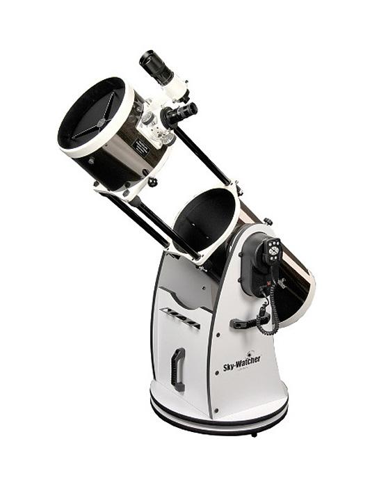 Фото - Телескоп Sky-Watcher Dob 8 (200/1200) Retractable SynScan GOTO (+ Книга «Космос. Непустая пустота» в подарок!) телескоп sky watcher mak90 az gte synscan goto
