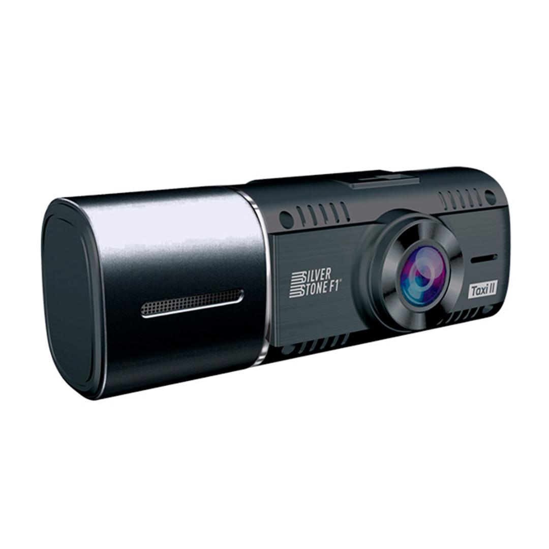 Видеорегистратор с внутрисалонной камерой SilverStone F1 NTK-60F Taxi II (+ Антисептик-спрей для рук в подарок!)