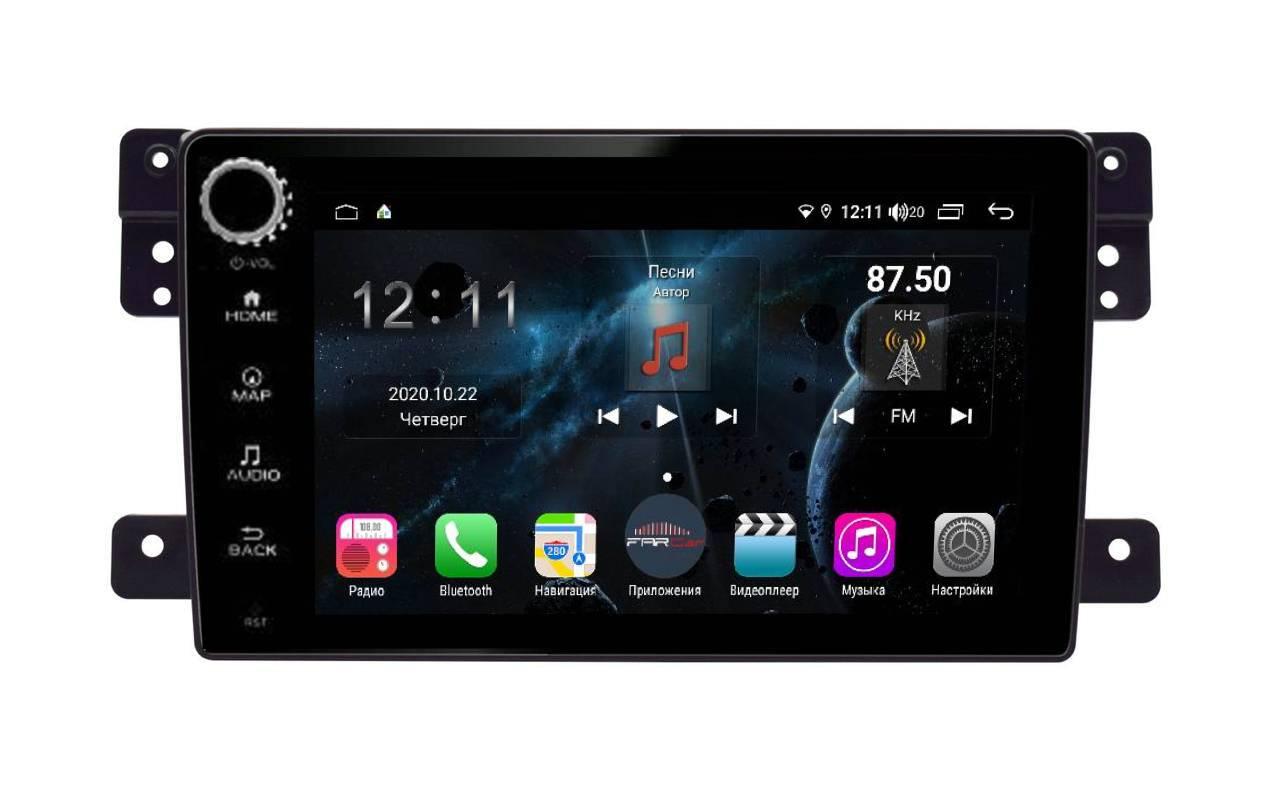 Штатная магнитола FarCar s400 для Suzuki Vitara на Android (H053RB) (+ Камера заднего вида в подарок!)