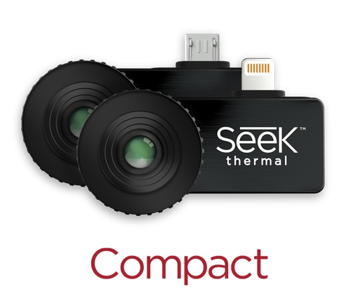 Мобильный тепловизор Seek Thermal Compact (для iOS) seek thermal compact compact xr compact pro imaging camera infrared imager night vision android and ios version