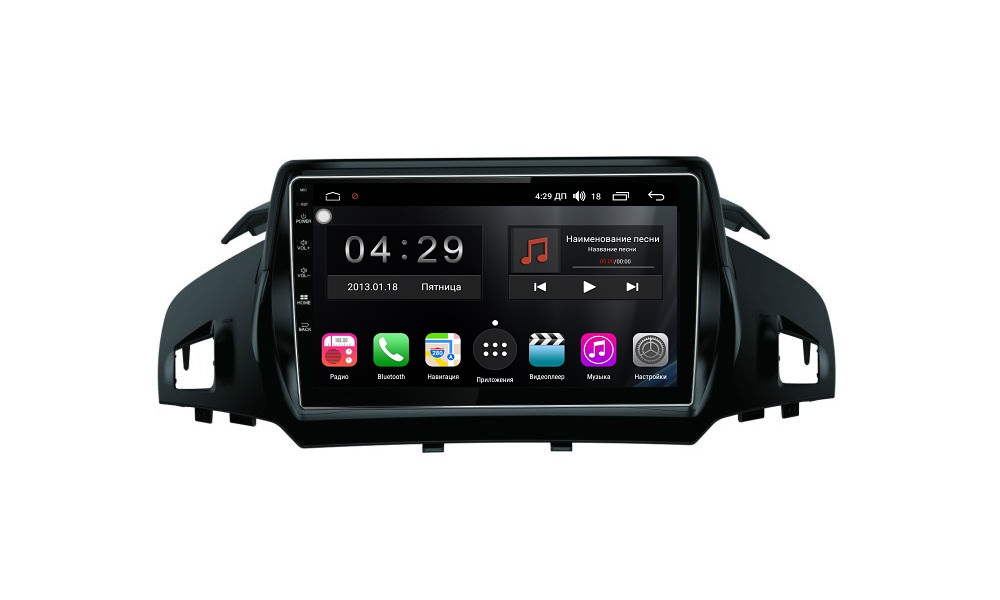 Штатная магнитола FarCar s300 для Ford Kuga 2013-2016 на Android (RL362R) (+ Камера заднего вида в подарок!) штатная магнитола carmedia ol 1255 8 c500 jeep compass 2016