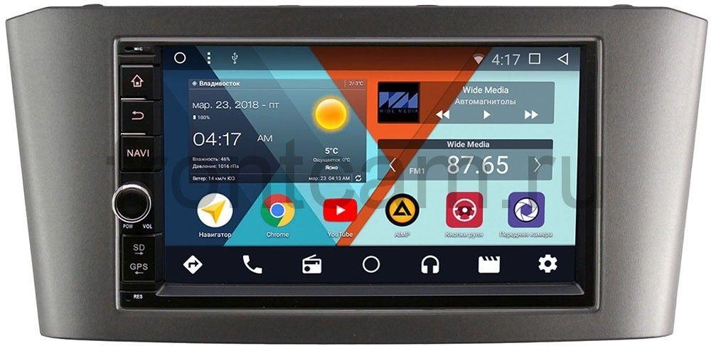 Штатная магнитола Wide Media WM-VS7A706NB-RP-TYAV25Xc-09 для Toyota Avensis II 2003-2008 Android 7.1.2