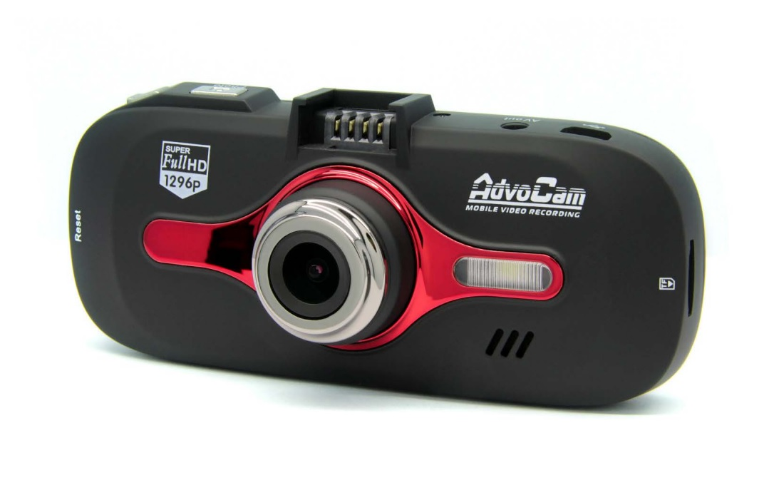Видеорегистратор AdvoCam-FD8 Red-II (GPS+ГЛОНАСС)