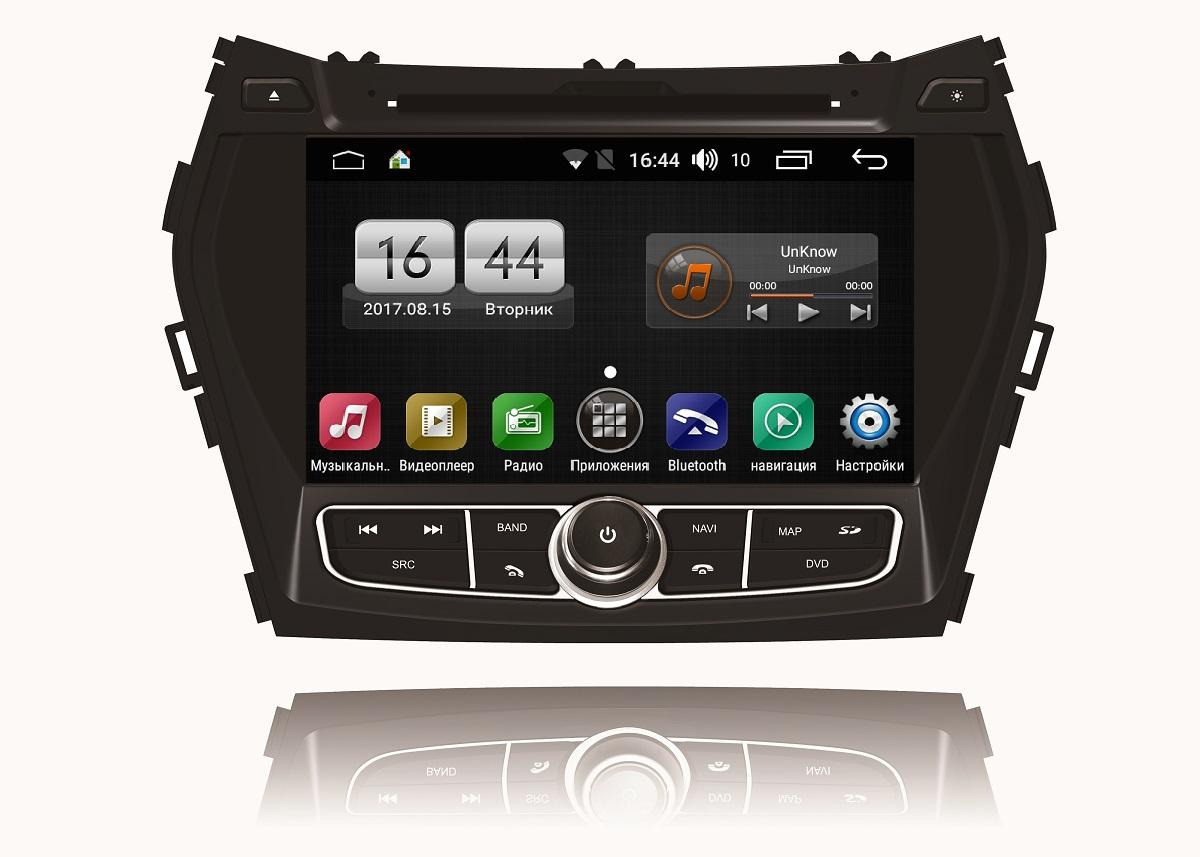 Штатная магнитола FarCar s170 для Hundai Santa Fe 2012+ на Android (L209) штатная магнитола farcar s170 для bmw e38 e39 e53 на android l707bs