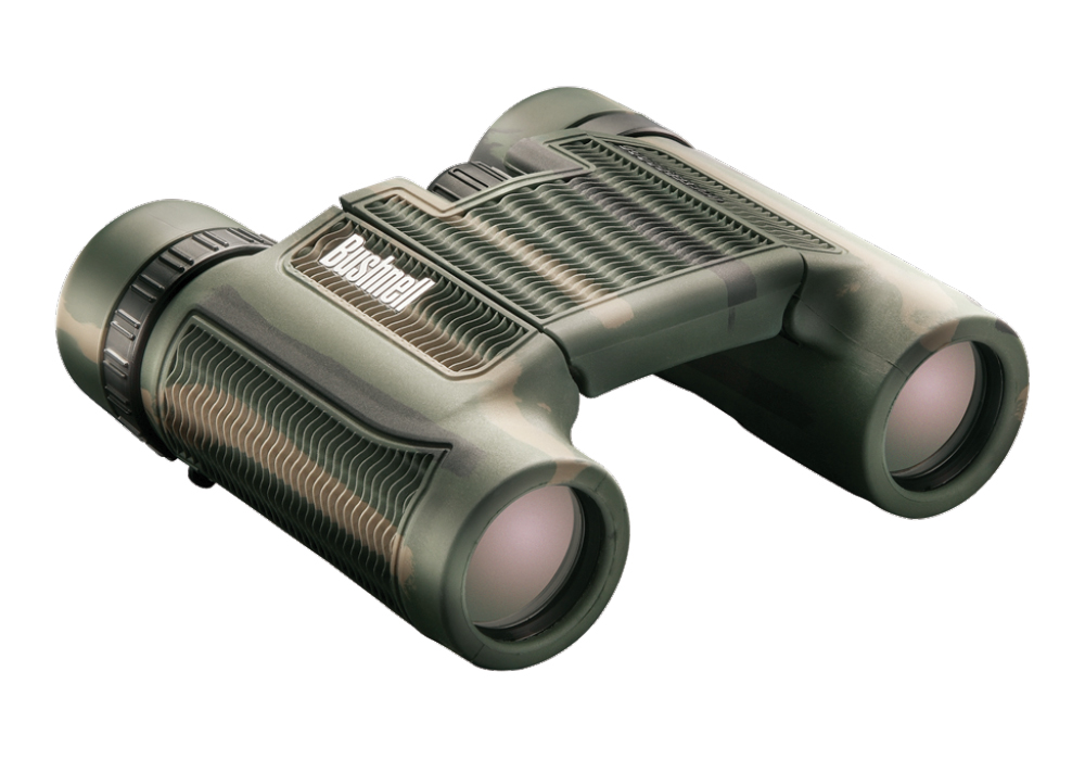 Фото - Бинокль Bushnell H2O ROOF 10x25 CAMO (+ Салфетки из микрофибры в подарок) бинокль