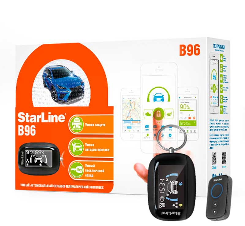Автосигнализация StarLine B96 2CAN+2LIN