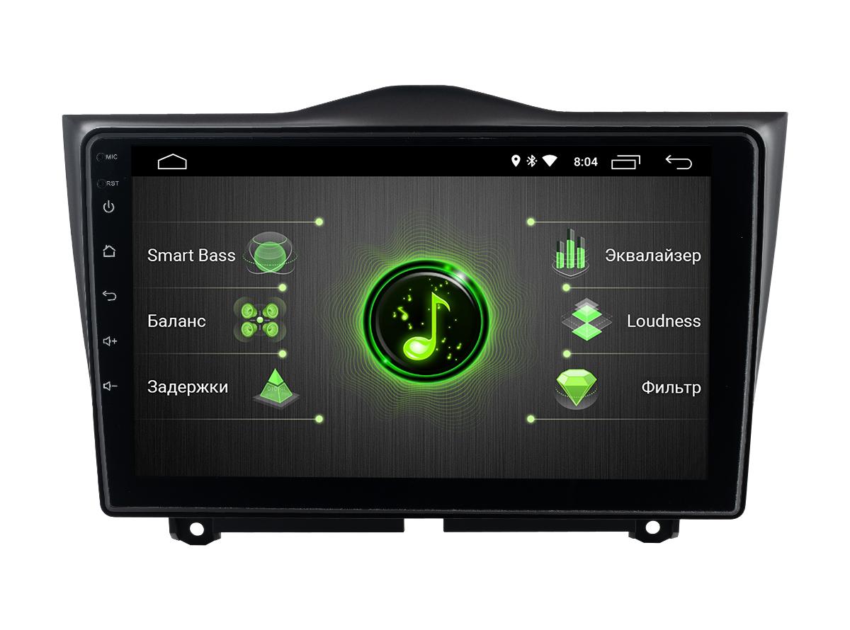 Штатная магнитола Incar DTA-6302 для Lada Granta (2019+) Android 10 с процессором DSP (+ Камера заднего вида в подарок!)