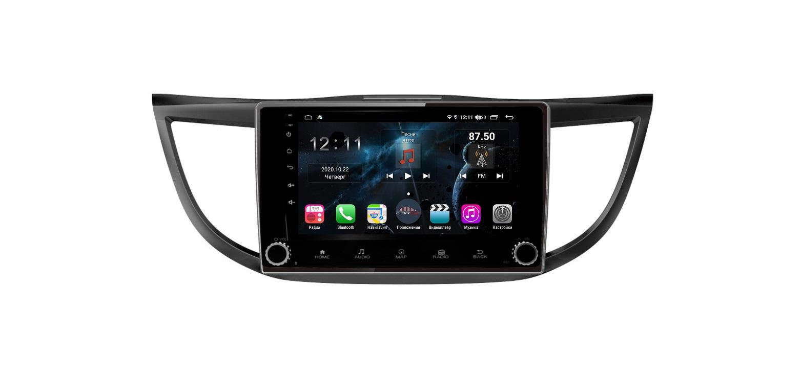 Штатная магнитола FarCar s400 для Honda CR-V на Android (H469RB) (+ Камера заднего вида в подарок!)