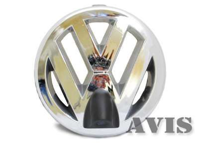 CCD штатная камера переднего вида AVIS AVS324CPR для VOLKSWAGEN (#122) ccd штатная камера переднего вида avis electronics avs324cpr 175 для hyundai santa fe iii 2012