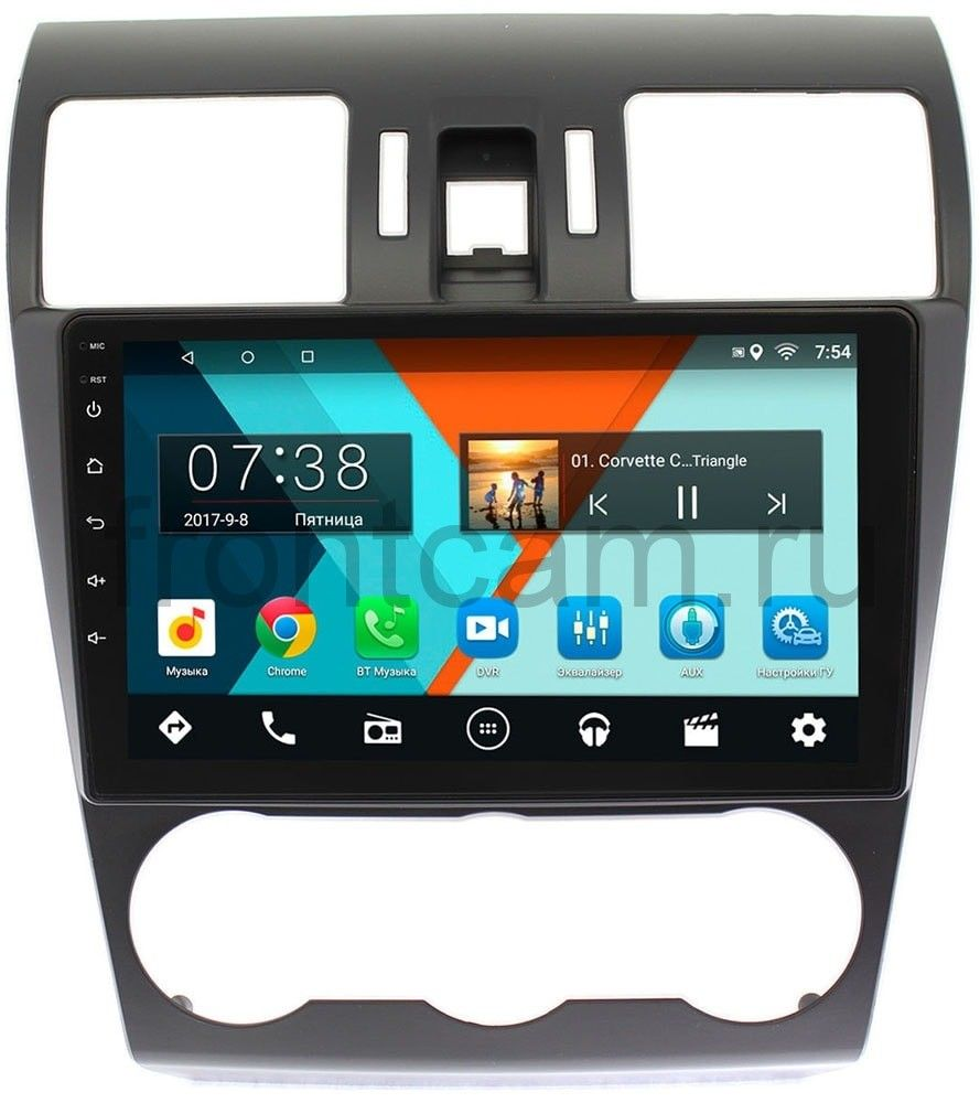 Штатная магнитола Wide Media MT9036MF-2/16 для Subaru Forester IV 2012-2014, Impreza IV 2012-2015, XV I 2011-2015 на Android 7.1.1 (+ Камера заднего вида в подарок!) штатная магнитола incar ahr 2686 subaru forester impreza 2013 xv android