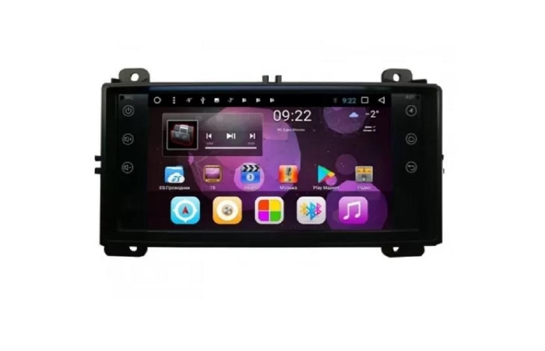 Головное устройство Vomi ST2737-T8 для Jeep Grand Cherokee 2010-2013 (красная подсветка) (+ Камера заднего вида в подарок!)