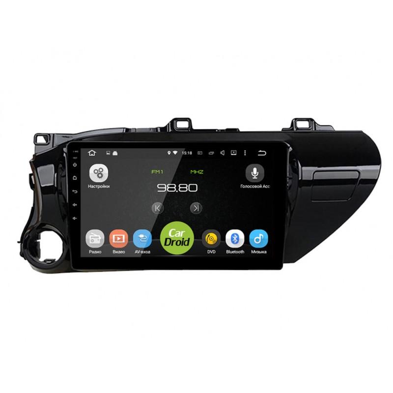 Автомагнитола Roximo CarDroid RD-1110F для Toyota Rav4  (+ Камера заднего вида в подарок!)