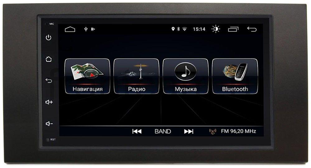 Штатная магнитола LeTrun 2380-RP-FRFC-35 для Ford Kuga, Fiesta, Fusion, Focus, Mondeo Android 8.0.1 MTK-L (+ Камера заднего вида в подарок!)