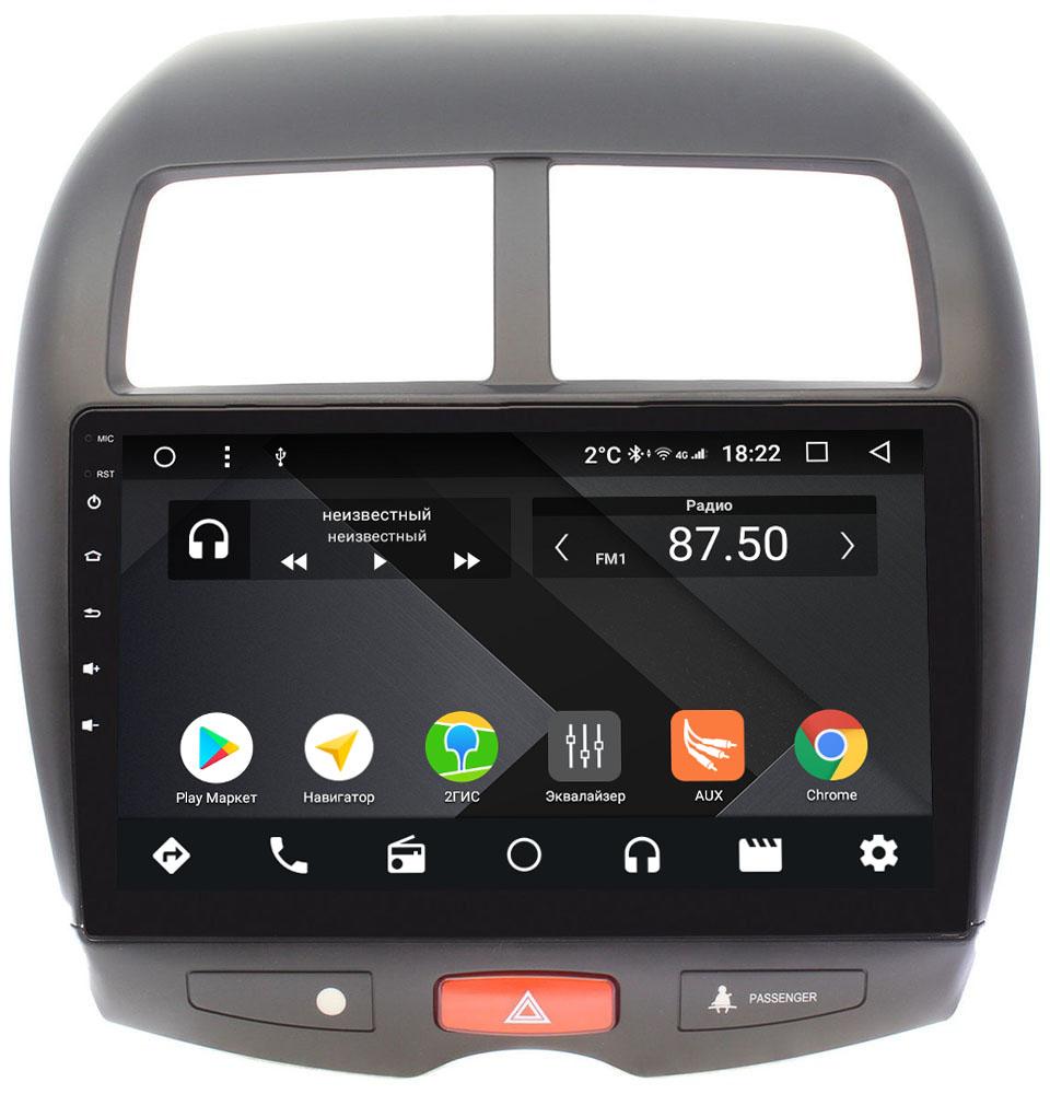Штатная магнитола Mitsubishi ASX I 2010-2018 Wide Media CF1032-OM-4/64 на Android 9.1 (TS9, DSP, 4G SIM, 4/64GB) (+ Камера заднего вида в подарок!)