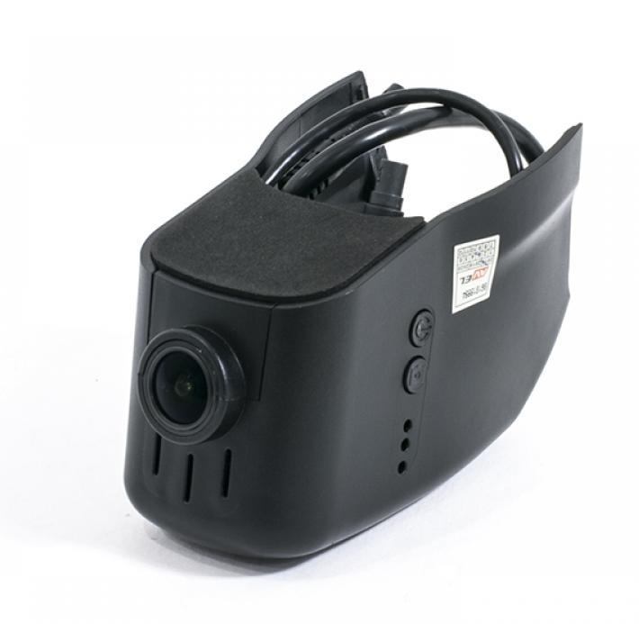 Штатный двухканальный автомобильный Ultra HD (1296P) видеорегистратор с GPS AVS400DVR (#114) для VOLKSWAGEN/ SKODA/ SEAT (+ Разветвитель в подарок!)