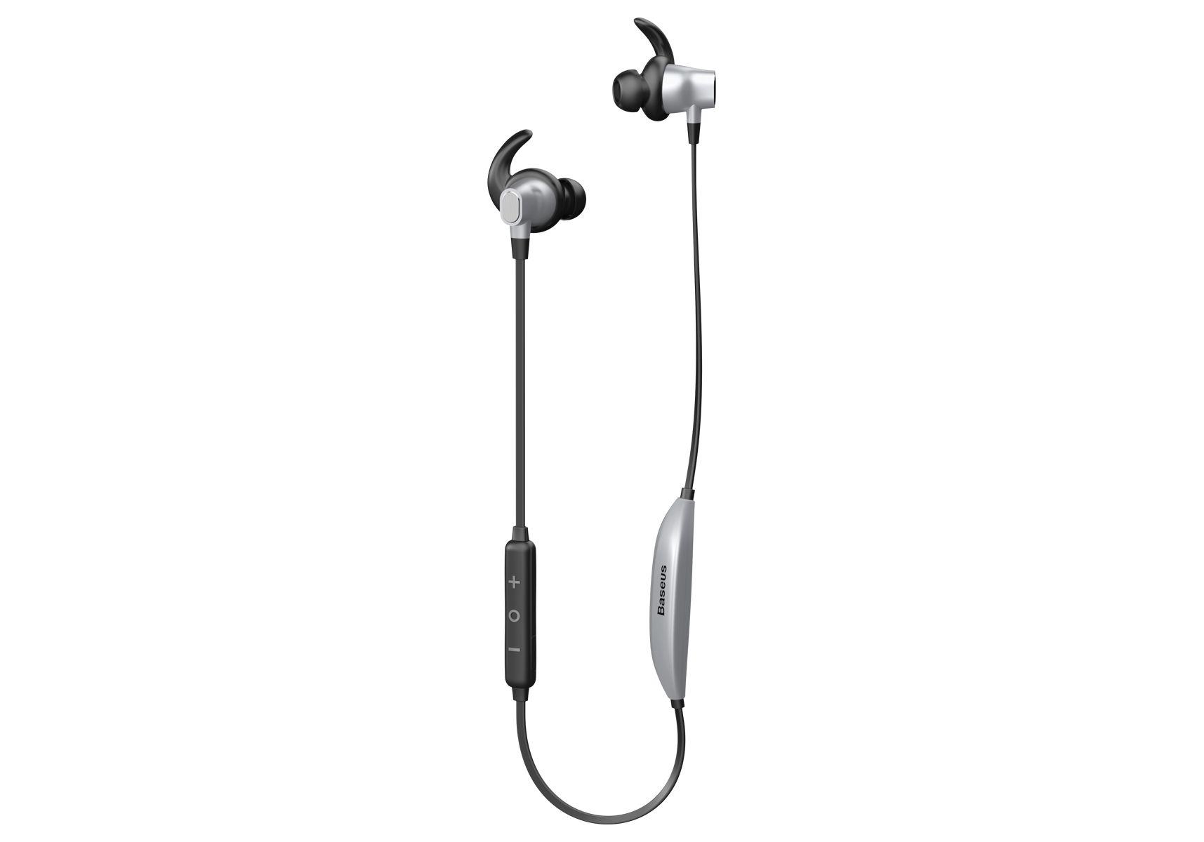 Наушники Baseus Encok Bluetooth Earphone S03 Silver+ Black