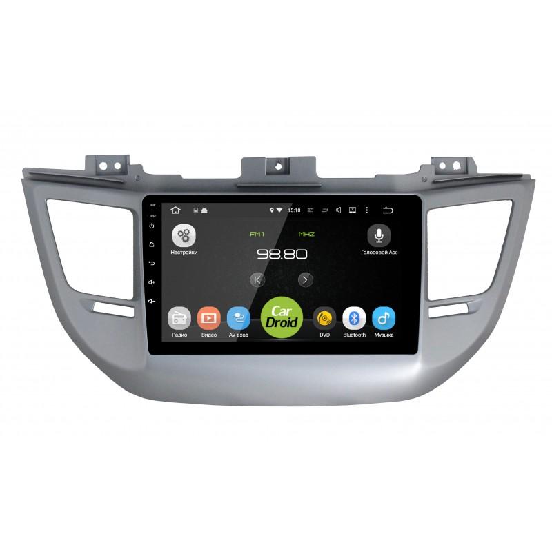 Штатная магнитола Roximo CarDroid RD-2013F для Hyundai Tucson III 2015-2017 (Android 8.0) (+ Камера заднего вида в подарок!)
