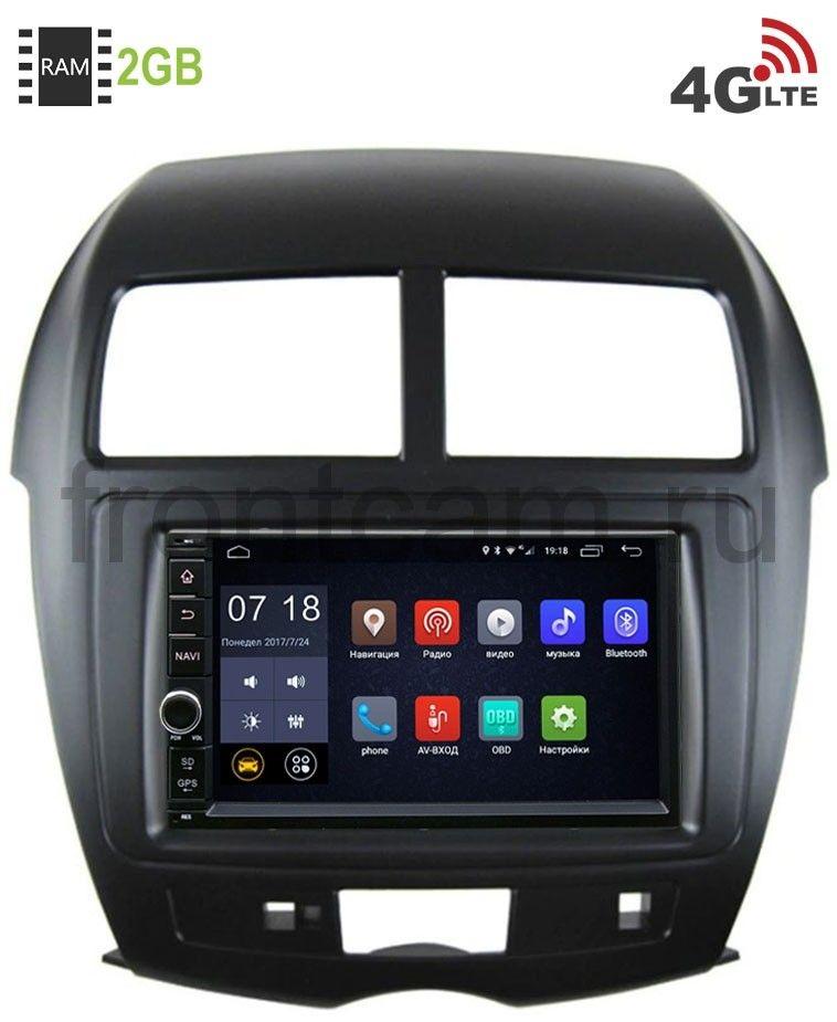 Штатная магнитола LeTrun 1968-RP-MMASX-69 для Peugeot 4008 2012-2018 Android 6.0.1 (4G LTE 2GB) (+ Камера заднего вида в подарок!)