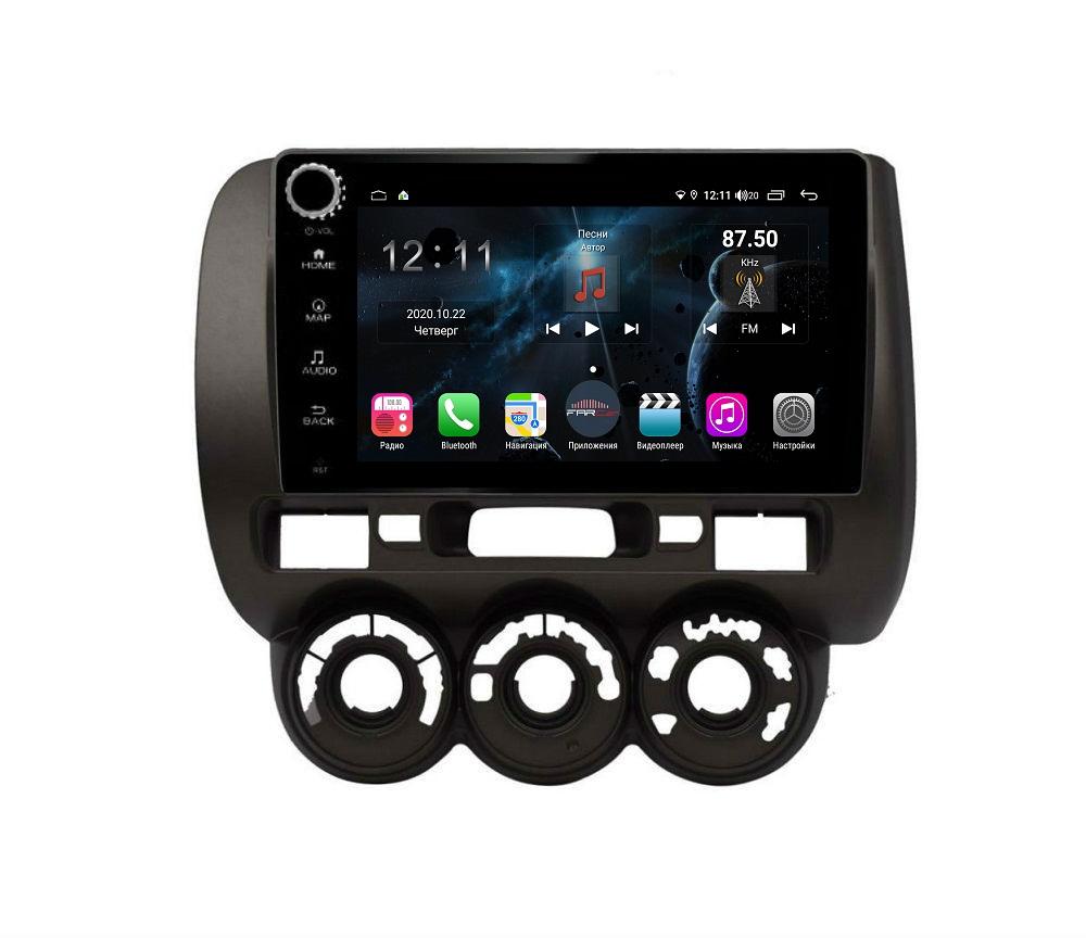 Штатная магнитола FarCar s400 для Honda Fit на Android (H1233RB) (+ Камера заднего вида в подарок!)