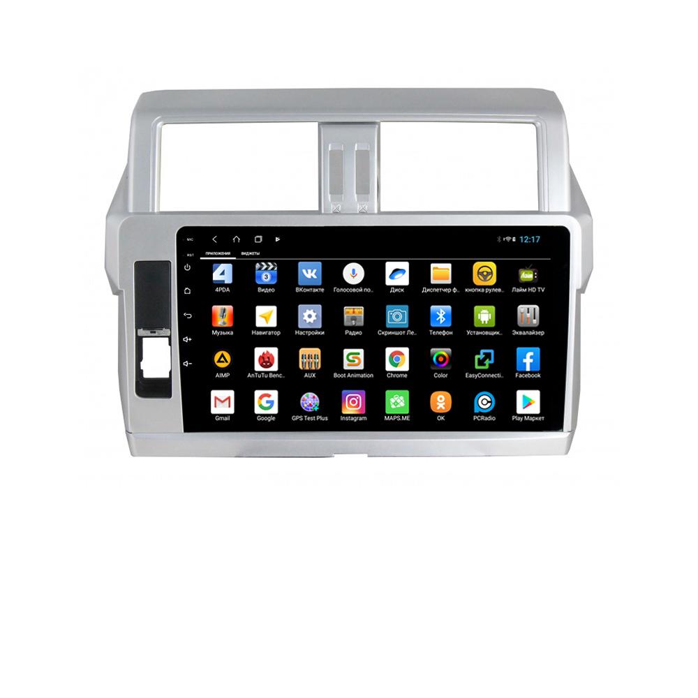 Фото - Штатная магнитола Parafar для Toyota Land Cruiser Prado 150 2014 Android 8.1.0 (PF347XHD-High) (+ Камера заднего вида в подарок!) штатная магнитола parafar для toyota lc100 1998 2003 android 8 1 0 pf450xhd камера заднего вида в подарок