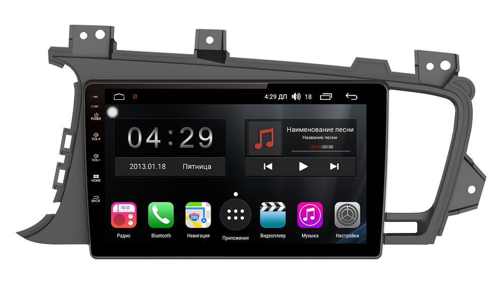 Штатная магнитола FarCar s300 для KIA K5 / OPTIMA 2010-2014 на Android (RL091R) (+ Камера заднего вида в подарок!)