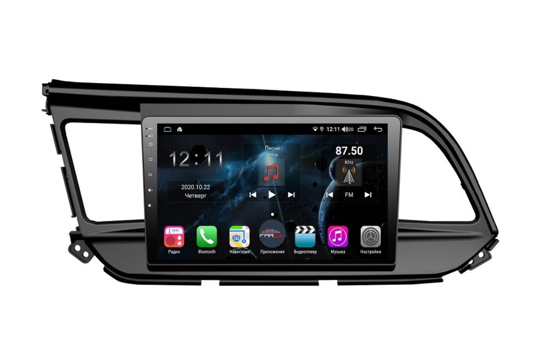 Штатная магнитола FarCar s400 для Hyundai Elantra 2018+ на Android (TG1159R) (+ Камера заднего вида в подарок!)