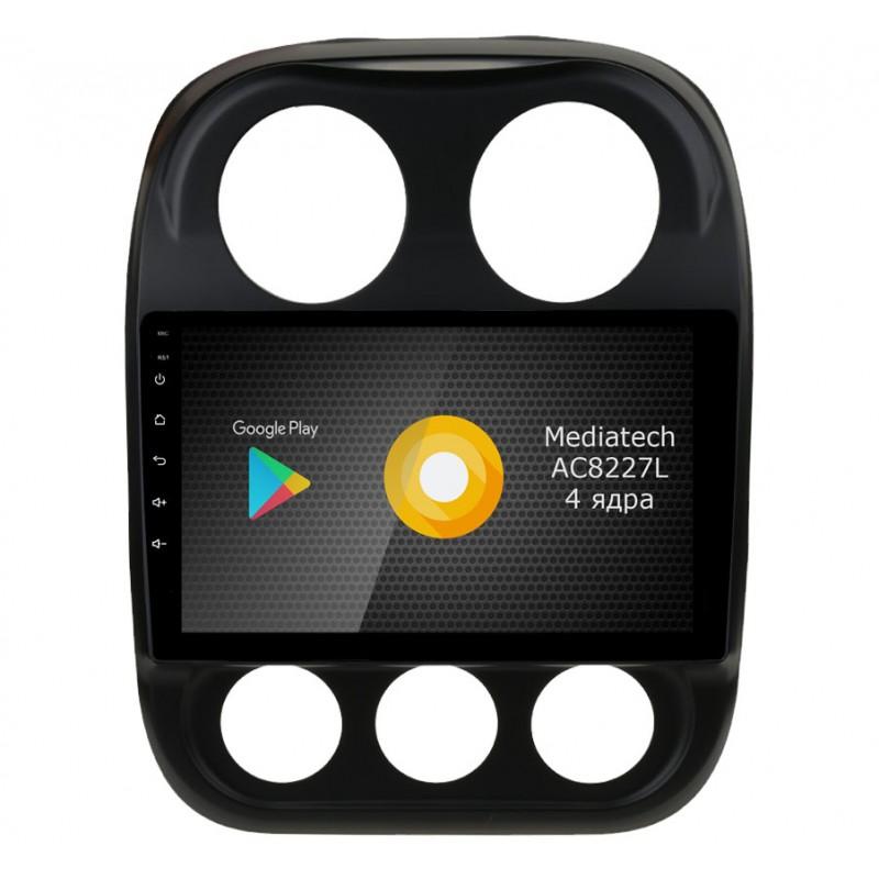Штатная магнитола Roximo S10 RS-2203 для Jeep Compas (Android 9.0) (+ Камера заднего вида в подарок!)