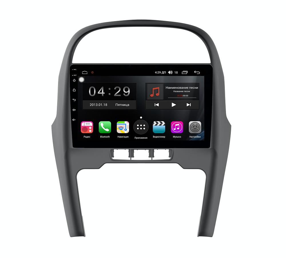 Штатная магнитола FarCar s300-SIM 4G для Chery Tiggo 3 на Android (RG1196R) (+ Камера заднего вида в подарок!)