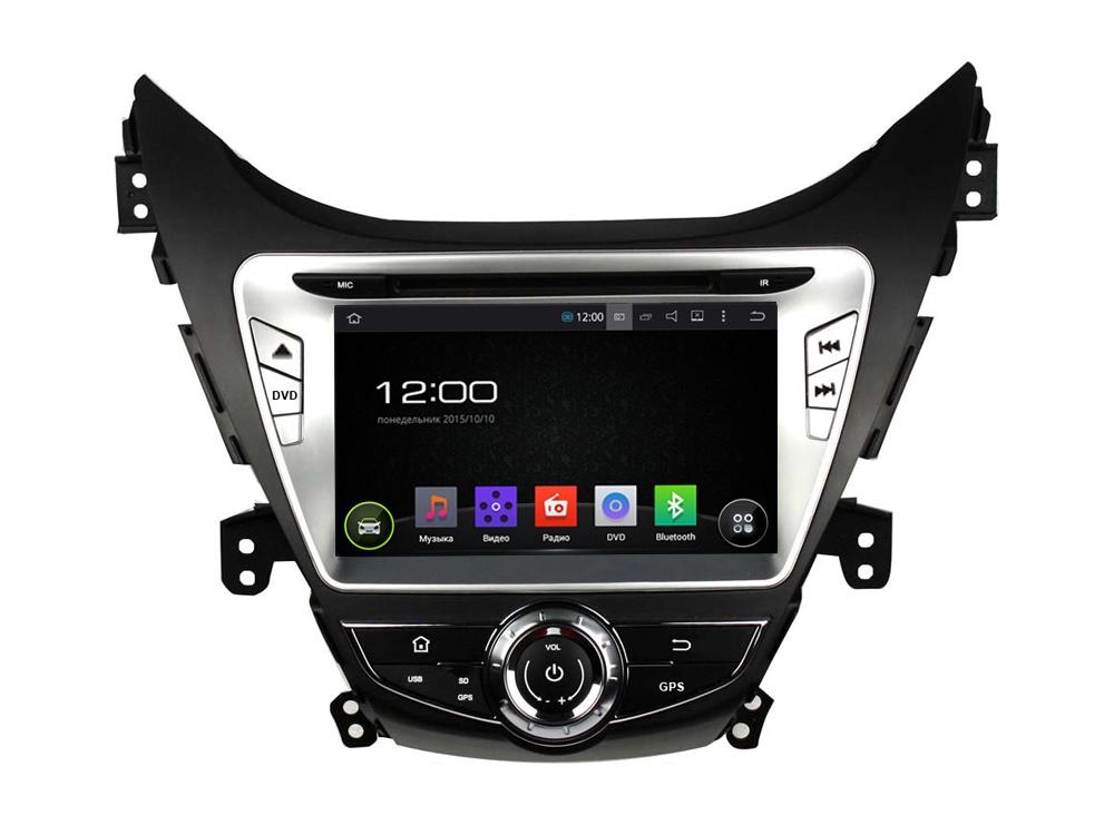 Штатная магнитола FarCar s130 для Hyundai Elantra 2014-2016 на Android (R092) farcar s130 hyundai solaris 2010 android r067
