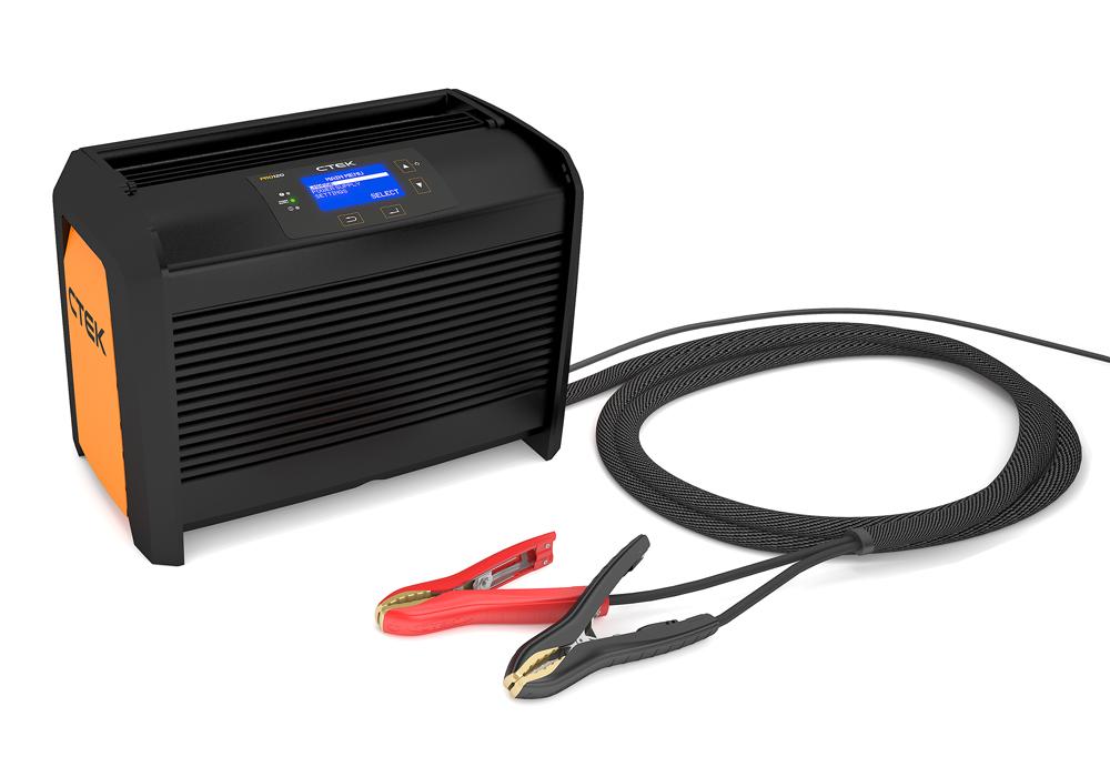 Профессиональное зарядное устройство CTEK PRO120 (+ Сигнальный жилет в подарок!)