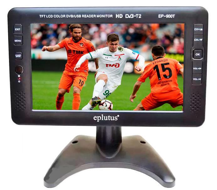 Автомобильный телевизор Eplutus EP-900T (+ Разветвитель в подарок!) автомобильный телевизор eplutus ep 900t