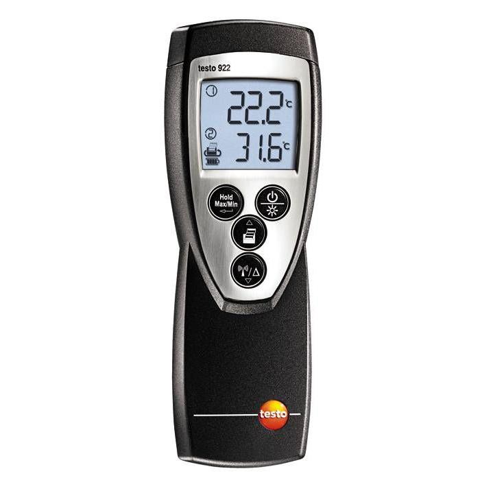 Термометр электронный Testo 922.