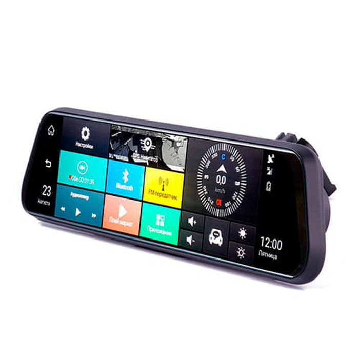 Видеорегистратор в зеркале Vizant 955 VENOM 3G 1080P (+ Антисептик-спрей для рук в подарок!)