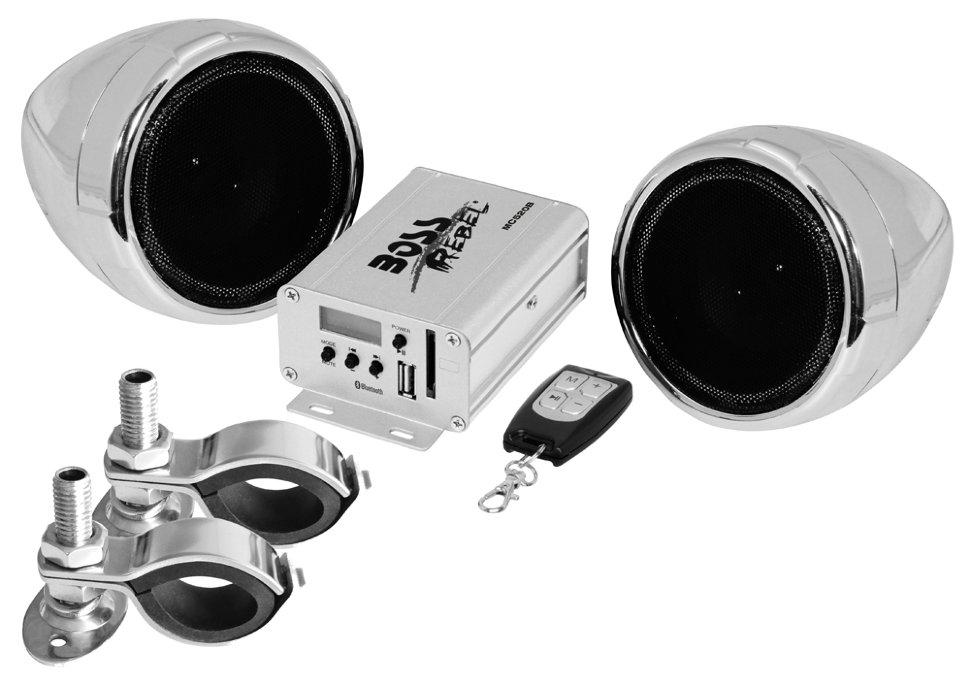 Фото - Аудиосистема BOSS Audio Marine MC520B (2 динамика 3, 600 Вт. USB/SD/FM, Bluetooth) телефон