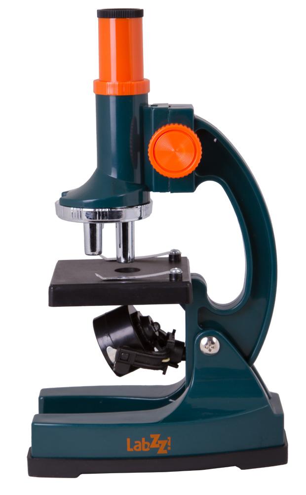 Фото - Микроскоп Levenhuk LabZZ M1 (+ Салфетки из микрофибры в подарок) набор для опытов bondibon телескоп вв1682