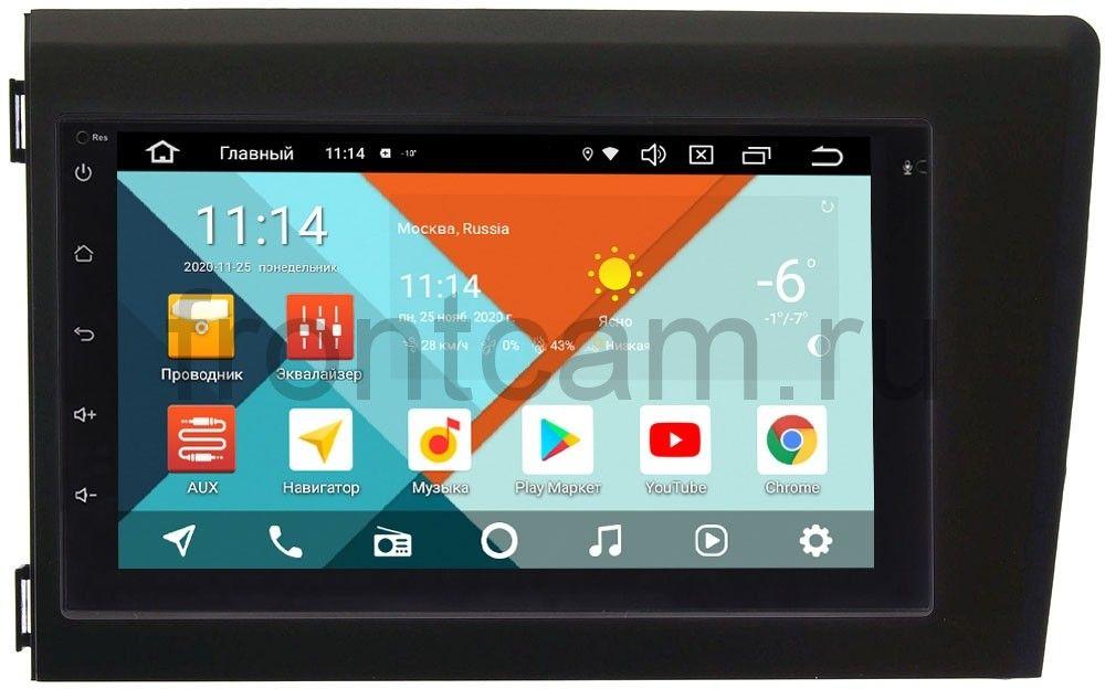 Магнитола в штатное место 2 din Volvo S60, V70, XC70 2000-2004 Wide Media MT7001PK-2/16-RP-VLS67C-137 на Android 9.1 (DSP 3G-SIM) (+ Камера заднего вида в подарок!)