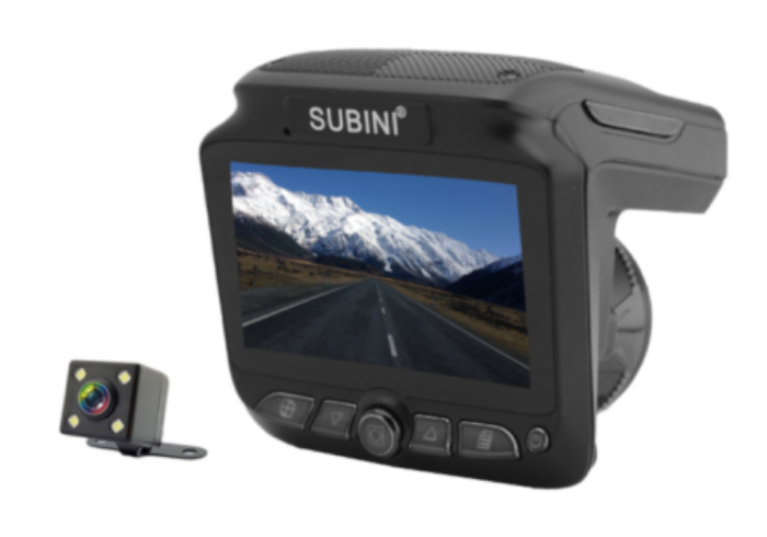 Видеорегистратор SUBINI XT-5 (+ Антисептик-спрей для рук в подарок!).