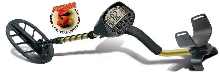 Металлоискатель Fisher F5 (+ Лопата и рюкзак в подарок!) часть подлокотника fisher f2 fisher f4 fisher f5 gold bug