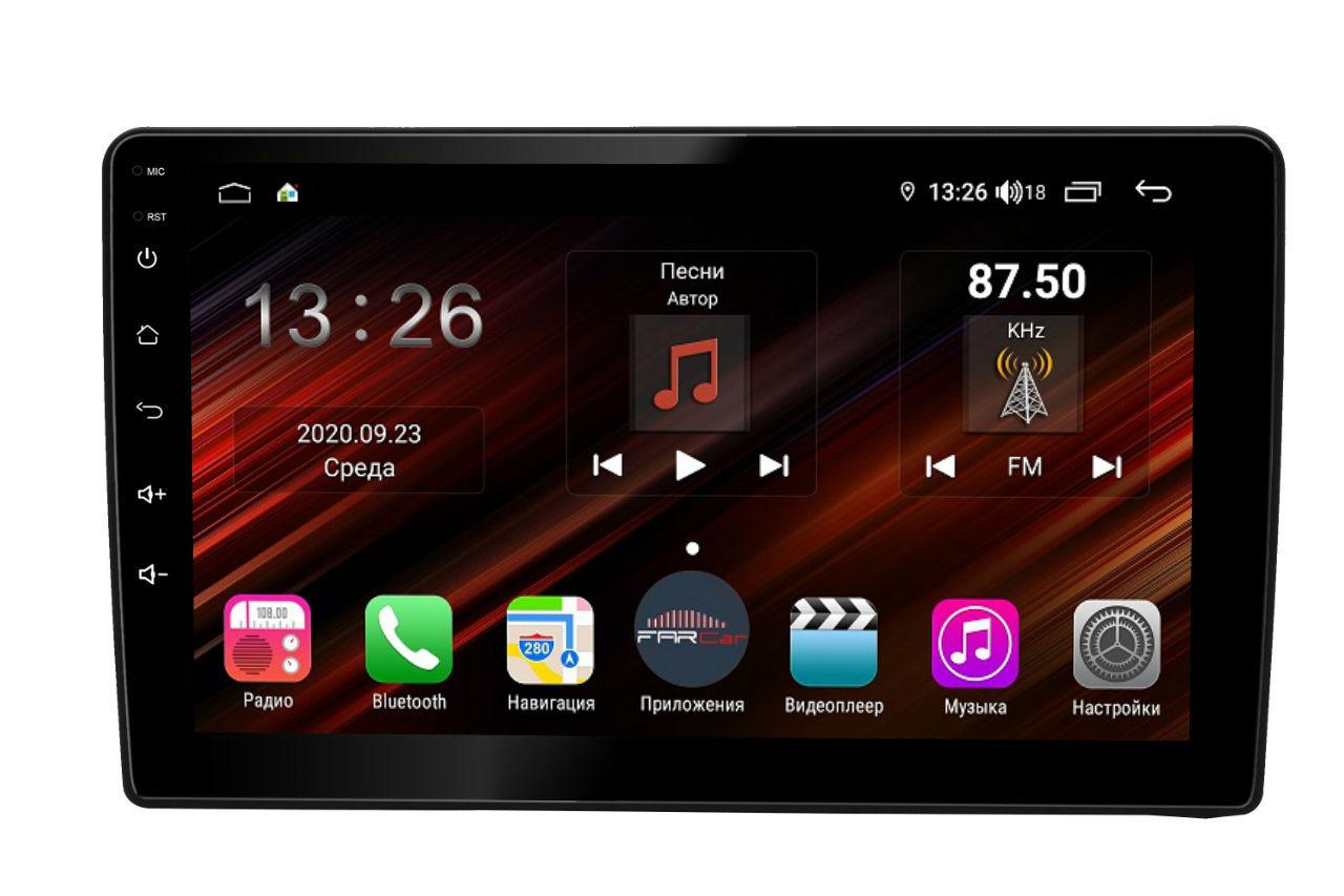 Штатная магнитола FarCar s400 Super HD для Hyundai Starex H1 на Android (XH233R) (+ Камера заднего вида в подарок!)